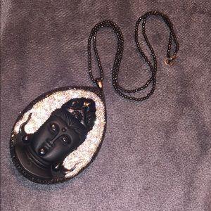 Jewelry - Large Buddha Pendant Necklace